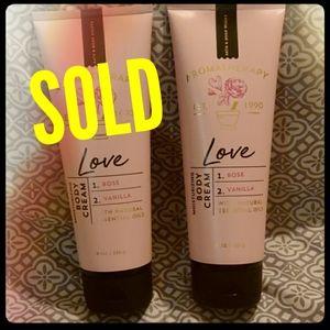 Love Aromatherapy--Rose and Vanilla